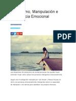 Ostracismo, Manipulación e Inteligencia Emocional