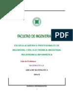 Guia de Matematica I 2016-II