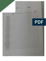 checklist student