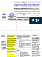 components of language arts and ss notes sp 16