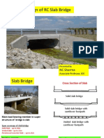 Design of Slab Bridge