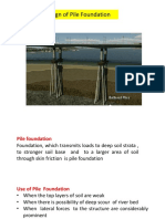 Design of Pile Foundation