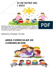 Rutas de Aprendizaje 2015