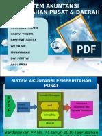 Sistem Akuntansi Pemerintahan Pusat