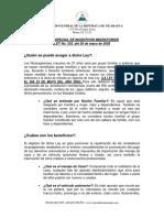 Ley No535 Incentivos Migratorios
