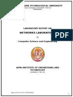 Cn Lab - Manual