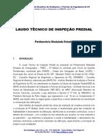 Laudo Penitenciaria Estadual Modulada de Charqueadas PEMC IBAPE 24-05-2012
