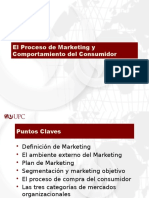 El Proceso de Marketing y Comportamiento Del Comsumidor