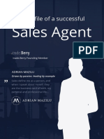 The profile of a successful Sales Agent