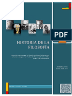 Manual de Historia de La Filosofa Curso 2014 2015