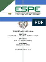 Inventario de Procesos de ESPE
