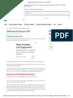 Cathode Ray Oscilloscope ( CRO ) – Electronics Post