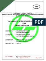 2015.04.10, Manual of Hydraulic System