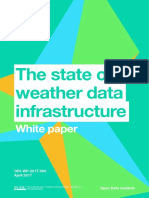 The state of weather data infrastructure – white paper
