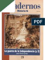 Cuadernos Historia 16, Nº 021 - La Guerra de La Independencia (II)