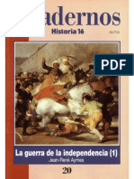 Cuadernos Historia 16, Nº 020 - La Guerra de La Independencia (I)