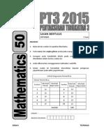 matematik pt3 2015