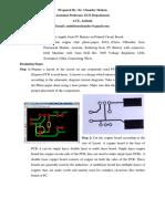 PCB Designing for Upload