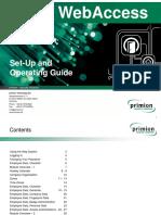 Prime WebAccess Manual