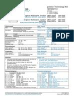 Prime Multiprox Technical Data L10A-188.01 04