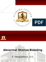 Abnormal Uterine Bleeding 7-17-16 Hengstebeck