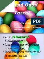 Motivul Oului Pascal Prelucrat