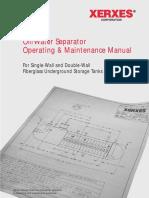 Oil Water Separator Operators Manual
