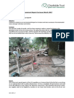 Achievement Report Curieuse March 2017