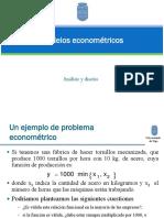Modelos Econometricos
