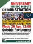 Southern DOO Demonstration Leaflet