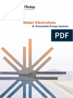 Water Electrolysis Renewable Energy Systems Fuel Cell Today(1)