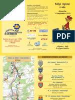 Rallye régional à vélo