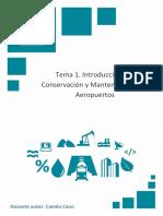 Temario_M6T1_Introducción a La Conservación y Mantenimiento de Aeropuertos