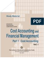 Cost Accounting Vol. I