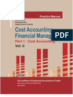 Cost Accounting Vol. II