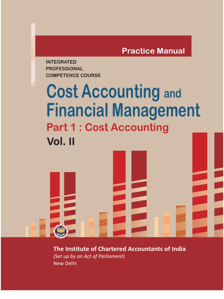 Cost accounting vol ii cost accounting cost fandeluxe Images
