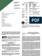 notice sheet 23rd april 2017