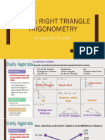 unit 3 right triangle trigonometry te ppt