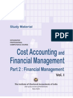 Financial Management Volume – I