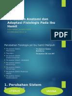 Ppt Ke 3(Perubahan Anatomi & Adaptasi Fisiologis Pada Ibu Hamil)