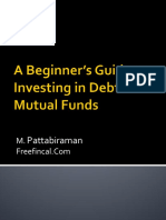 A Beginners Guide to Investing in Debt Mutual Funds