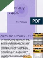read366 literacy apps presentation