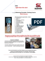 3 Day Metering Principles Training 2016