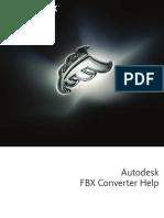 Fbx Converter Help 2013