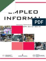 Paraguay. Empleo Informal 2010-2014
