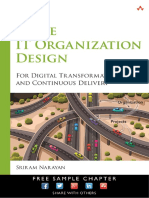 Sample Chapter Agile It Organisation Design