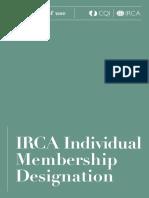 IRCA Scheme Brand Terms of Use