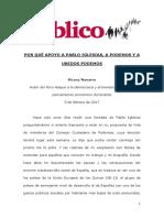 Por Que Apoyo a Pablo Iglesias a Podemos y a Unidos Podemos P0102 VDEF Edit2 08.02.17
