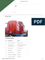 Railway Engine – ZHP Stroy