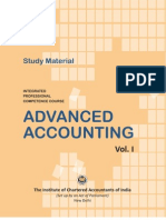Advanced Accounting Vol. I